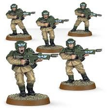 Easy to Build Astra Militarum Cadians WT