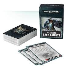 Datacards: Grey Knights (ENG) WT