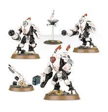 T'au Empire XV25 Stealth Battlesuits WT