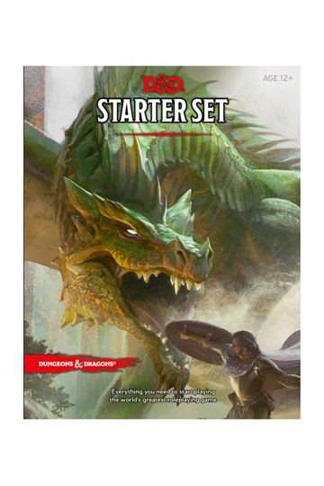 copy of Dungeons and Dragons Starter Box 5e