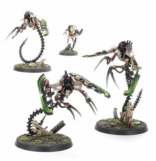 Necron Ophydian Destroyers