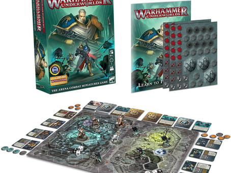 Warhammer Quest Launch Review and this weeks pre order preview.