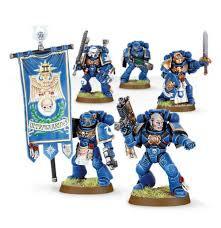 Space Marine Command Squad WT