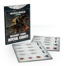 Datasheets: Imperial Knights (ENG) WT