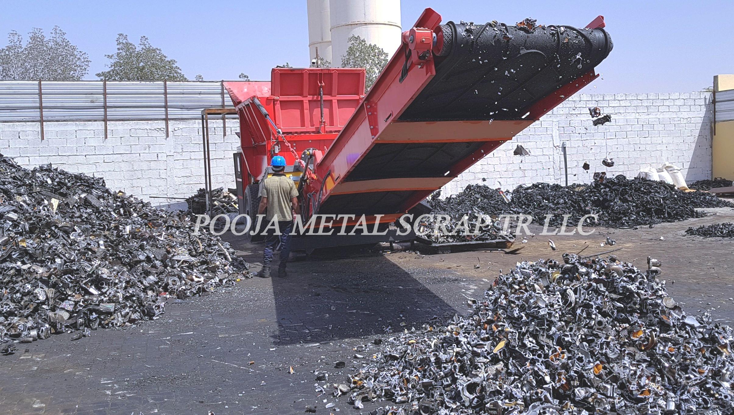 Aluminium scrap Trump /Tense   Sharjah   POOJA METAL SCRAP
