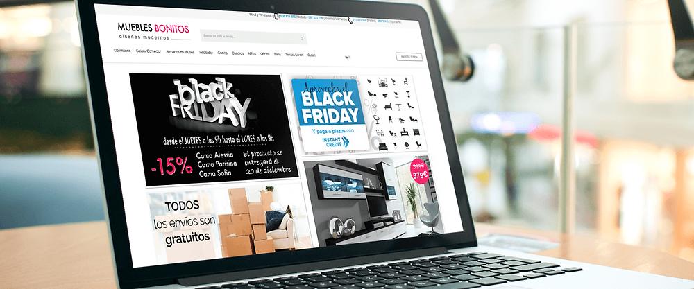 Tienda Virtual, Black friday, ventas online