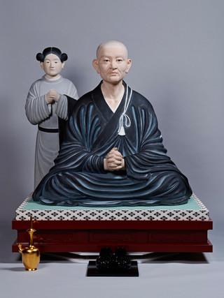 恵果阿闍梨坐像