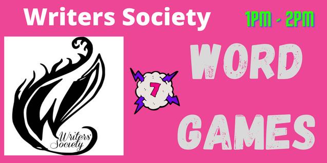 Writers Soc: Word Game