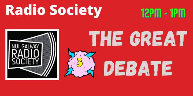 Radio Soc: Great Debate