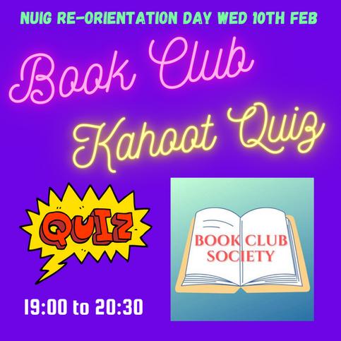 Book Club: Quiz
