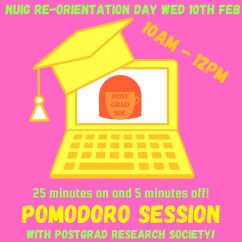 Postgrad Research: Pomodoro