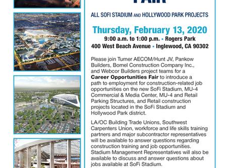 Career Opportunities Fair 2/13/2020