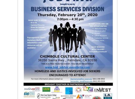JOB FAIR: Business Services Division