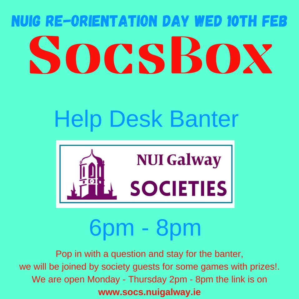 SocsBox Help Desk Banter