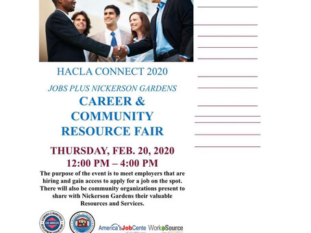 HACLA Connect 2020