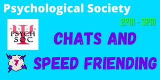 Psych Soc: Speed Friending