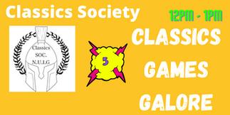 Classic Soc: Games Galore!