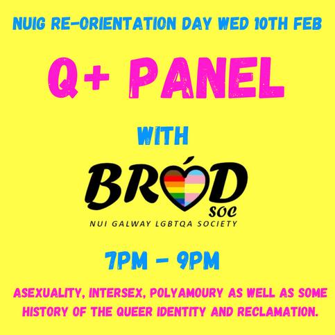 Brod Soc: Q + Panel