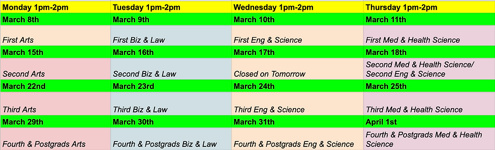 Timetable march meetups.png