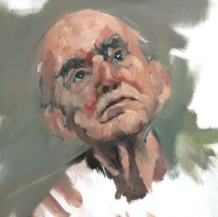 Didi ( Vladimir ) Portrait series from Waiting for Godot by Samuel Beckett.