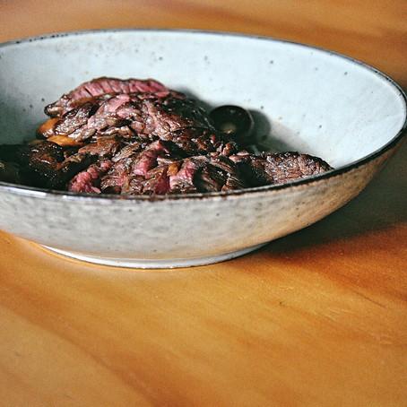 Destination Dining: Beef Flank & Mushrooms at Madame George
