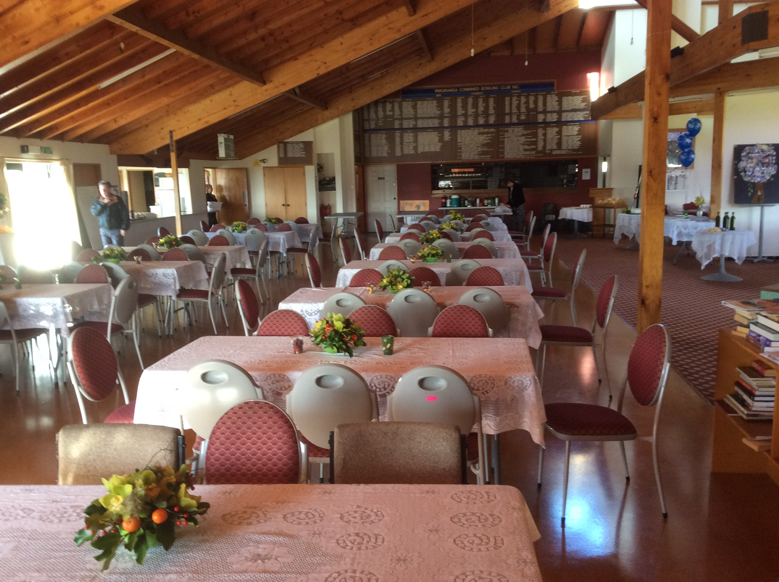 Pakuranga Bowling Club ready for Jennifer's 70th birthday 18.7.15 (2)