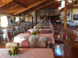 Pakuranga Bowling Club ready for Jennifer's 70th birthday 18.7.15 (2)