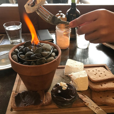 Destination Dining: The DIY S'More at The Garden Shed