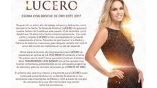 LUCERO SUCESSO EM 2017.