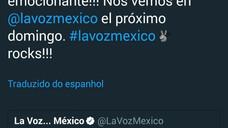 Participação da Lucero em La Voz México.