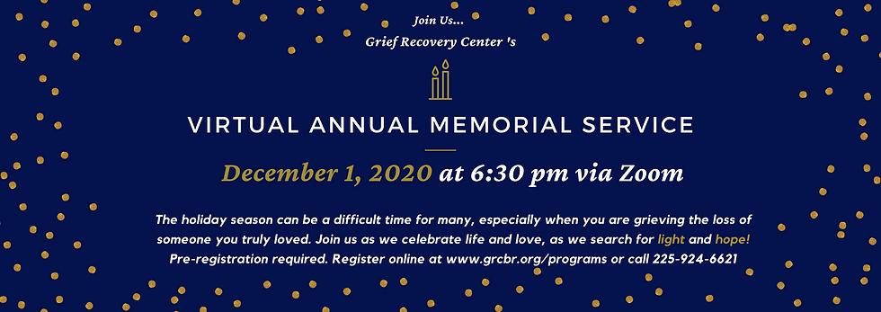 Annual Memorial Service INV