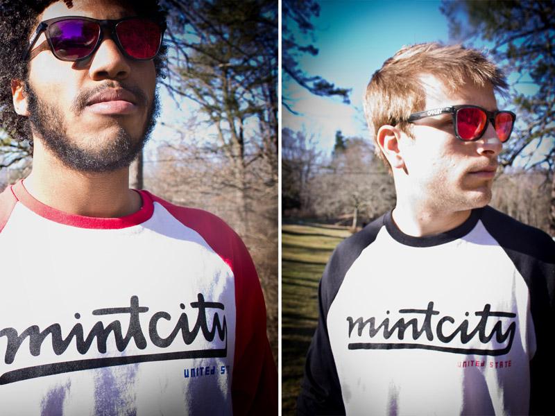 Mint City United State Raglans