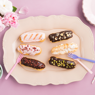 Eclairs and Chouquettes from scratch - July 29