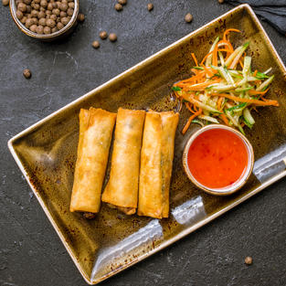 Egg Roll and Fried rice - October 24th - ONLINE Sold out