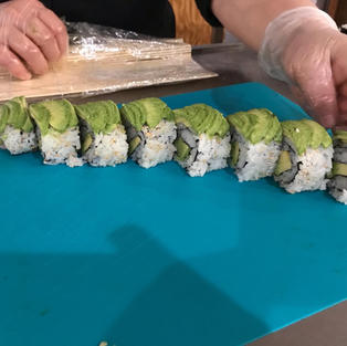 Sushi Rolls Beginners - May 13 - 2 seats left
