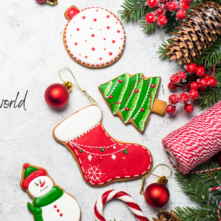 Holidays dessert around the world - December 19th - SOLD OUT