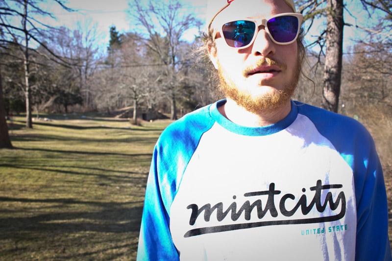 Mint City United State Raglan
