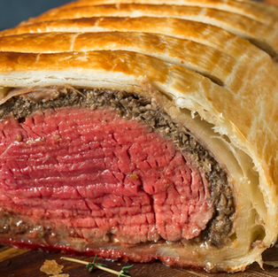 Beef Wellington from scratch - May 25