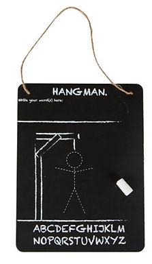 Hangman Chalk Board