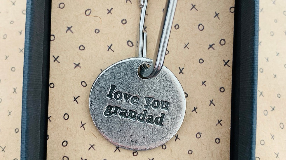 Love you Grandad Keychain