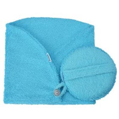 Toca Atoalhada de banho , com esponja