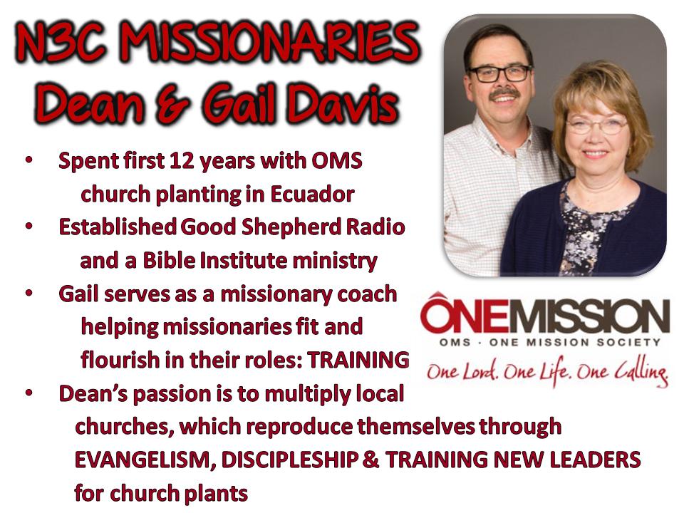 Dean & Gail Davis
