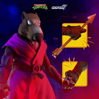 Super7 TMNT Ultimates Action Figure Splinter