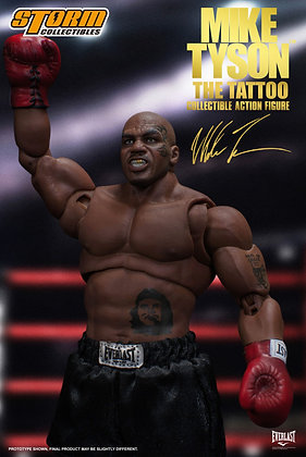 Storm Collectibles Mike Tyson Action Figure The Tattoo