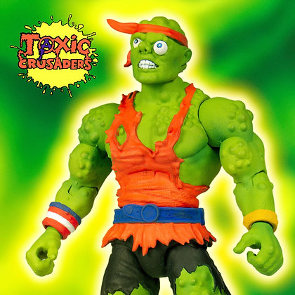 Super7 Toxic Crusaders Deluxe Action Figure Toxic Crusader