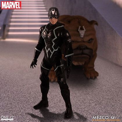 *Pre-order* Mezco One:12 Marvel's Black Bolt & Lockjaw