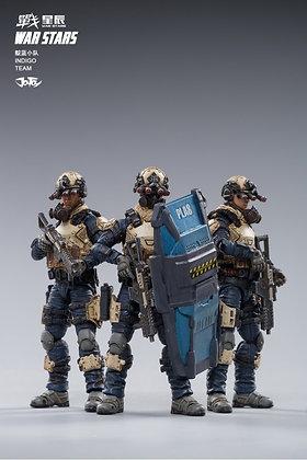 Joy Toy Starhawk 8th Army Indigo Fleet (1/18 Scale)