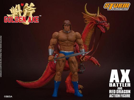 *Pre-order* Storm Collectibles Golden Axe 1/12 Ax Battler & Red Dragon