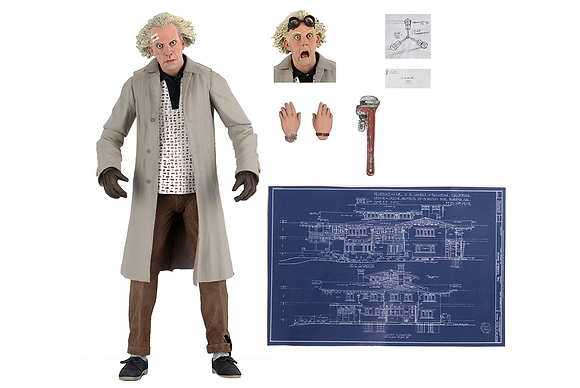 *Pre order* NECA Back to the Future Ultimate Doc Brown