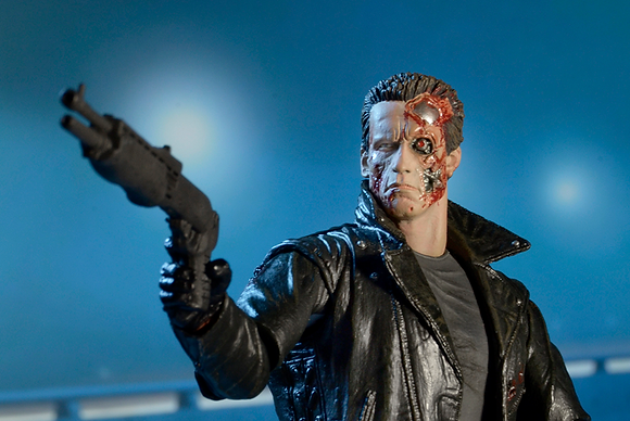 NECA Terminator T-800 Police Station Assault